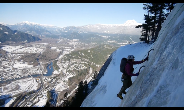 The Ultimate Ultimate Everything- An ice climbing first ascent in Squamish, BC
